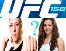 Kaufman vs Tate UFC 158
