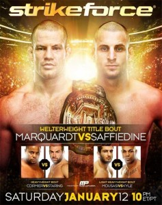 StrikeforcePosterMarquardtSaffiedine
