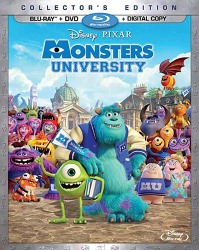 Monsters University Collector's Edition review