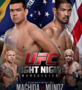 UFCFighNight30Poster