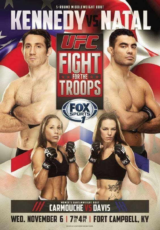 UFC Fight For The Troops 3 quick results