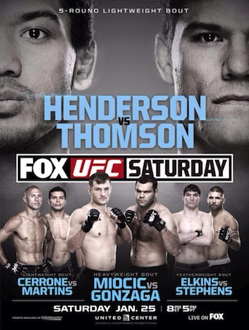 Ringside Report Radio January 24: UFC on FOX 10 preview. Now online
