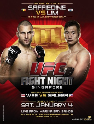 UFC Fight Night 34 results
