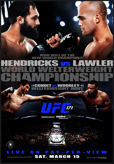 Ringside Report Radio March 14, 2014: UFC 171 preview with Robbie Lawler. Now online