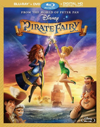 The Pirate Fairy [Blu-ray The Pirate Fairy Blu ray combo pack review 394x500 Movie-index.com