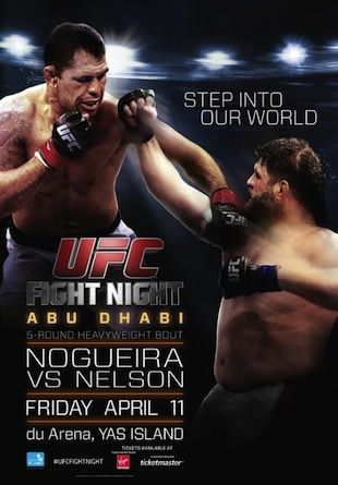 UFC Fight Night 39: Nogueira v. Nelson results