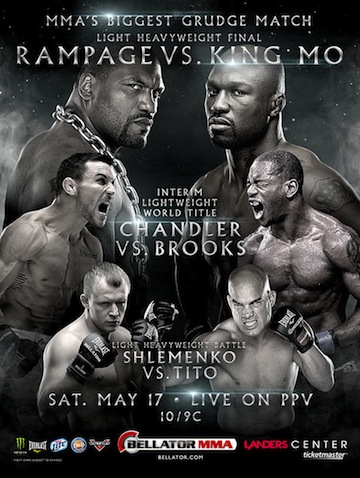 Ringside Report Radio May 16: Bellator 120 preview. Now online