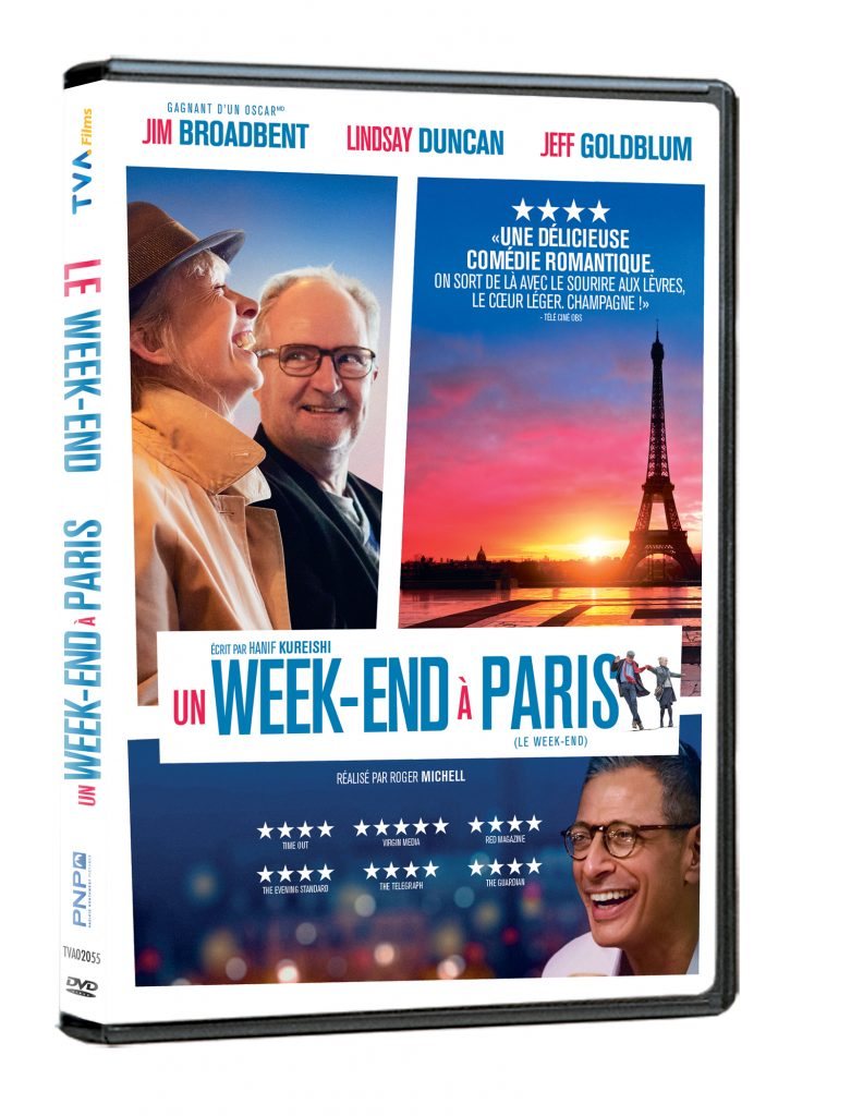 Un week-end à Paris DVD review