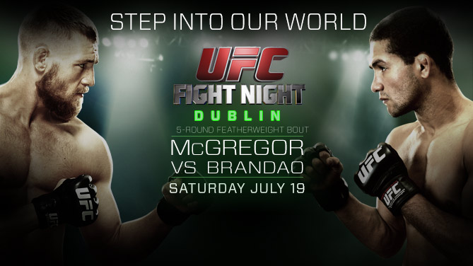 Ringside Report Radio July 18: UFC Fight Night Dublin preview. Now online