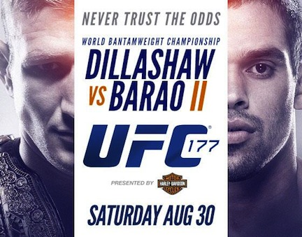 Ringside Report Radio August 29: UFC 177 preview. Now online