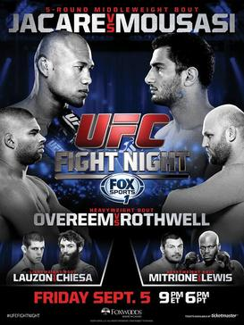 Ringside Report Radio UFC FN 50 preview with Gegard Mousasi and Joe Lauzon now online