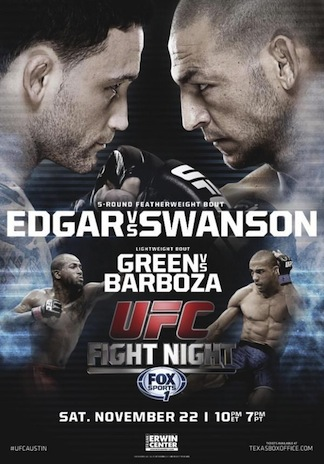 Ringside Report Radio UFC FN 57 preview with Cub Swanson now online