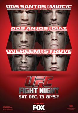 Ringside Report Radio UFC on FOX 13 preview now online