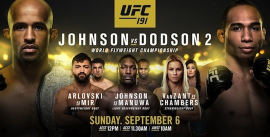 Ringside Report Radio: UFC 191 preview now online