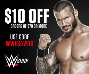 WWE Shop $10 off