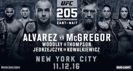 Ringside Report Radio UFC 205 preview